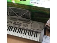 Large electronic keyboard