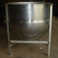 60 Gallon Jacketed Kettle Stainless Steel