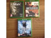!Xbox one games!