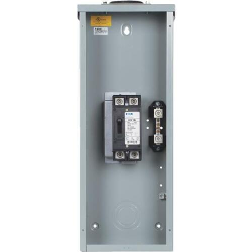 Eaton ECC 200A 2-Space Outdoor Raintight Enclosure 1 pk