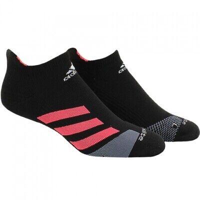 Adidas Damen Traxion Gepolstert No-Show Tennis Socken Klein 5.5-7.5 (Gepolsterte Socken No-show)