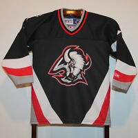 CCM 2000-01 BUFFALO SABRES HOME HOCKEY JERSEY CHILDRENS ONE SIZE