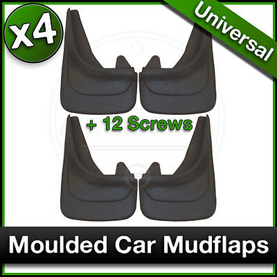 MOULDED MUDFLAPS Contour Mud Flaps for VW VOLKSWAGEN Front & Rear Fitment SET 4