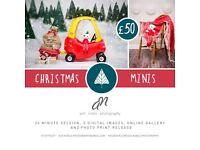 { Christmas children's photography sessions }
