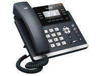 3 of Yealink T41P Phones in Good Condition