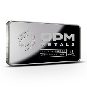 Bar en argent/silver 10 oz OPM sealed