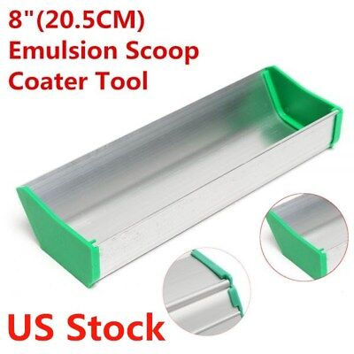 Usa Stock 8 Dual Edge Emulsion Scoop Coater For Silk Screen Printing