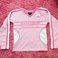 Pink Habs Jersey Size L 10-12yrs Montreal Canadiens NHL Jersey