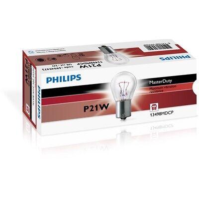 PHILIPS MasterDuty P21W 24V 21W BA15s Schlussleuchte Glühlampe - 13498MDCP 10er gebraucht kaufen  Essen