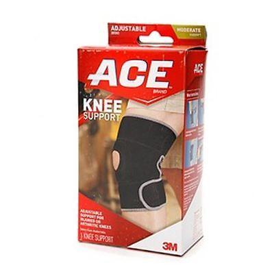 - ACE Neoprene Knee Brace Open Patella One Size 1 Each (Pack of 2)
