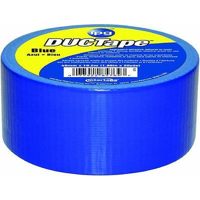 20yds Duct Tape Blue Intertape Polymer 6720blu For All-purpose Use3 Roll Pk