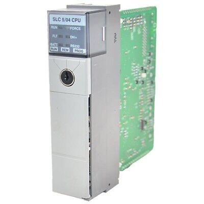1747-l542-c Allen Bradley 32k Ram Slc504 Processor Unit Slc500 --sa