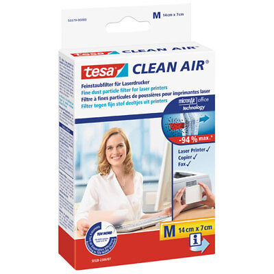 "*** TESA® CLEAN AIR FEINSTAUBFILTER 140 X 70 MM ""M"" #50379"