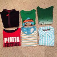 Assorted boy clothing