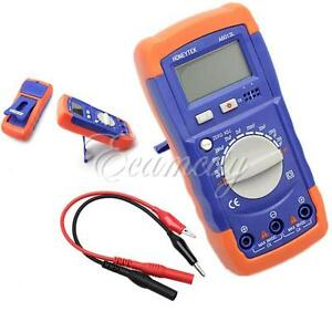 A6013L Digital LCD Capacitance Capacitor Meter Tester Multimeter 20mF To 200pF