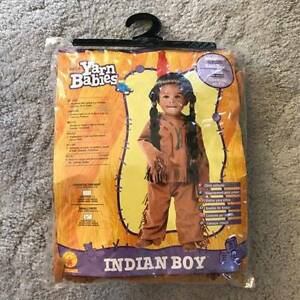 Indian native America Child costume New Merrimac Gold Coast City Preview