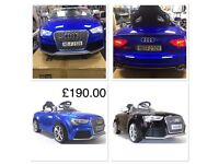 Audi Rs5, Met Blue Parental Remote Control, Self Drive,