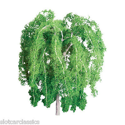 "JTT SCENERY 94266 PROFESSIONAL SERIES 1"" WEEPING WILLOW TREE   Z-SCALE  4 P/K"