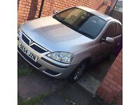 1.2 Vauxhall Corsa 54 plate (2005) MOT till may 2017 STILL AVAILABLE