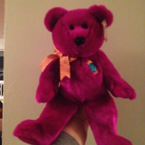 Millennium the Bear Ty Beanie Buddy Stuffed Animal