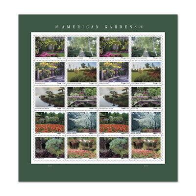 USPS New American Gardens Pane of 20