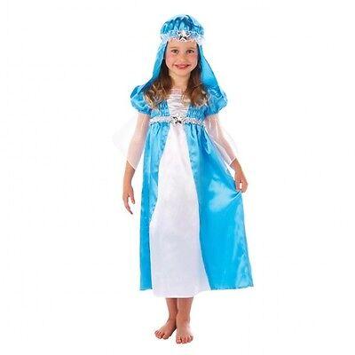 Mädchen Kinder Weihnachten Krippenspiel Mary Kostüm Verkleidung