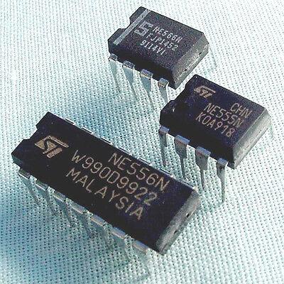 10 Pc - Oscillator Ic Assortment - Includes Ne566 Ne555 Ne556 566 555 556