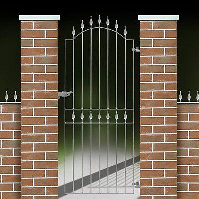 METAL GATE GARDEN GATES/ DRIVEWAY GATE / METAL DOOR / STEEL GATE