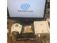 Sega Dreamcast with 1 controller