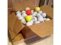 80 Used Golf Balls