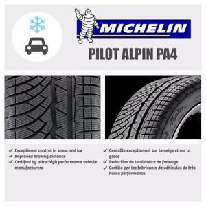 Pneus Hiver *NEUF* 315/35/20 + 275/40/20 Michelin PILOT ALPIN PA4 Neuf A *1749$ INSTALLER!*OUVERT LES SAMEDIS 10h a 2h**