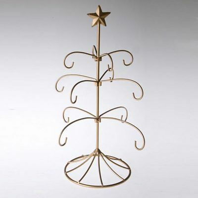 Exclusive Metal Brides Tradition Ornament Display Tree  Gold Stand Wedding Gift