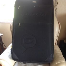 Suitcase, New, Large, Lightweight by Dunlop, Black