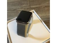 Swap Apple Watch 42mm stainless with Milanese loop for decent electric bike