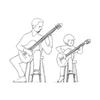 Basic Guitar Lessons for Children (12 and under)
