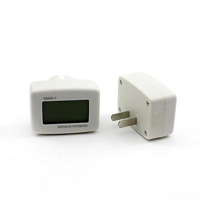 Plug-in Ac80-300v Lcd Digital Volt Meter Voltmeter Electric Pen Panel Meter Tool