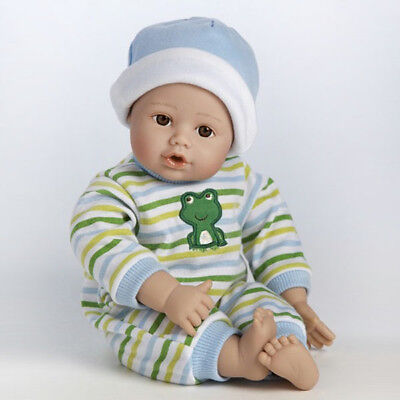 """PlayTime Baby Little Prince, Brown Eyes, 13"""" Doll by Adora D"""
