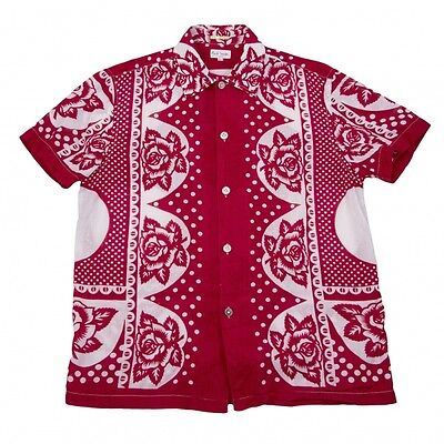 Paul Smith Short Sleeves Shirt Size L(K-42079)
