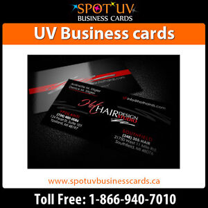 Standard Business card printing in Canada- UV Business cards London Ontario image 3