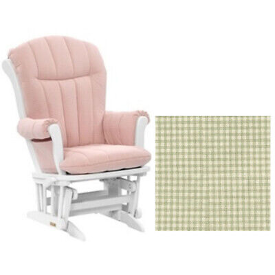 Photo Dutailier Glider, Multi-position & Recline in White W/Cushion 3016