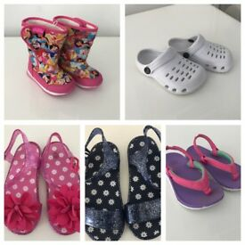 Young girls shoes (starting from £1!)