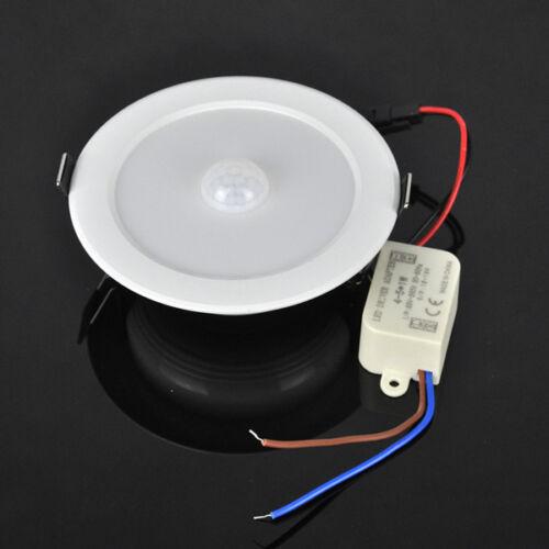 Led Ceiling Lights With Sensor: Hot 5W E27 PIR Motion Sensor LED Ceiling Light Downlight Wall Path Corridor Lamp