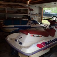 Two seadoo's/ both early to mid 90's