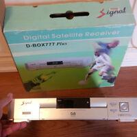 FTA satellite dish + LNB + receiver