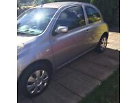 NISSAN MICRA, SILVER, EXCELLENT CAR £699 ONO