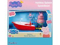 Peppa pig 3 X holiday series toys BNIB RRP £ 52