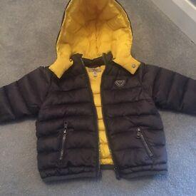 Boys Armani coat