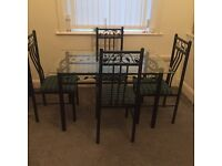 Dining table&4 chairs