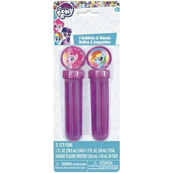 My Little Pony Bubbles & Wands 1oz, 2ct