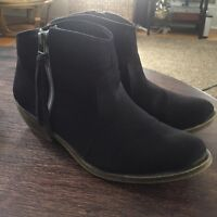 Black Booties - Size 7